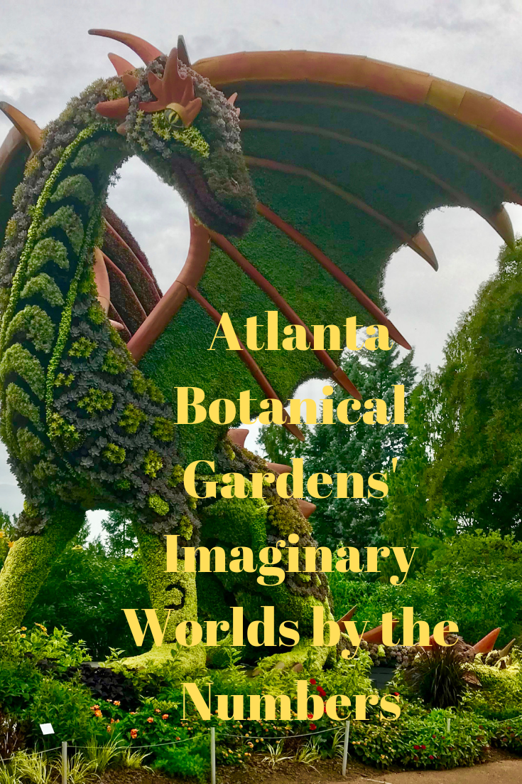 Atlanta Botanical Garden S Imaginary Worlds By The Numbers Literarily My Way